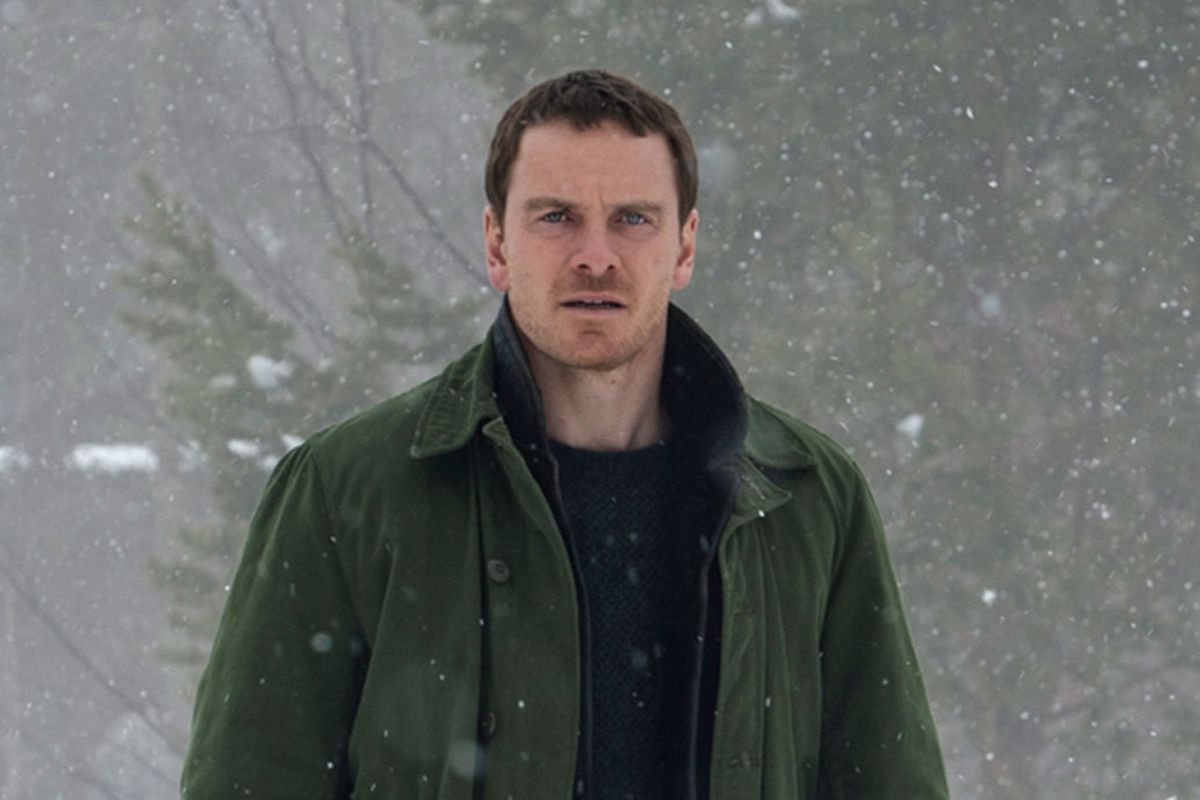 Michael Fassbender as Norwegian detective Harry Hole in The Snowman (2017)