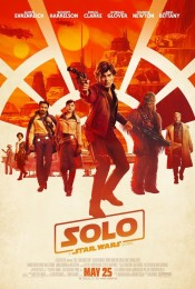 Solo A Star Wars Story (2018) poster