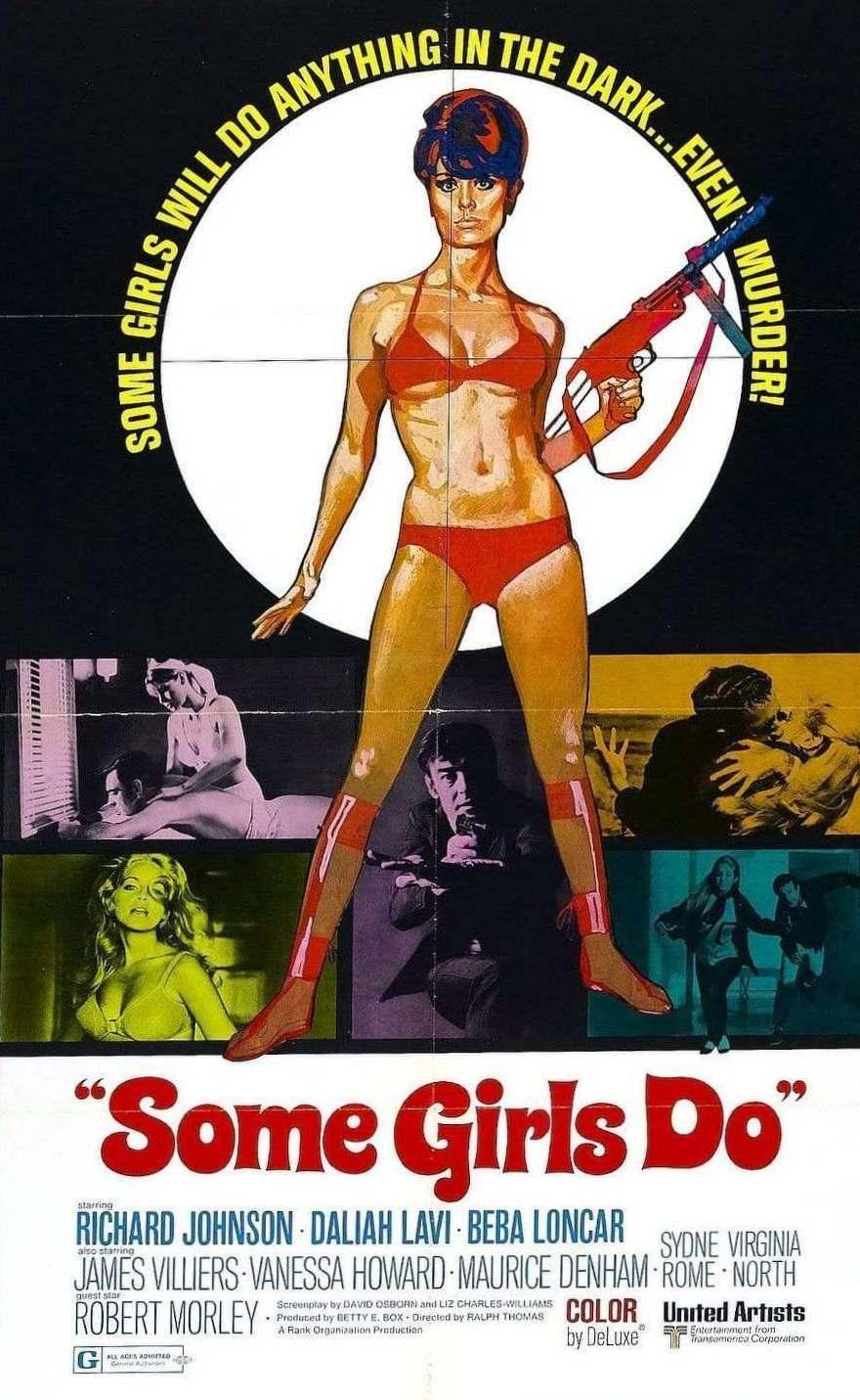 Some Girls Do (1969) poster
