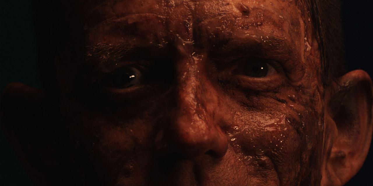 Demonic rapist Ezra Buzzington in Someone's Knocking at the Door (2009)