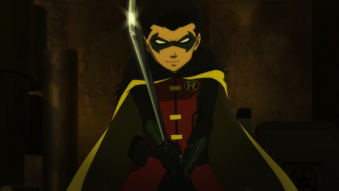 The introduction of Damian Wayne, the new Robin, in Son of Batman (2014)