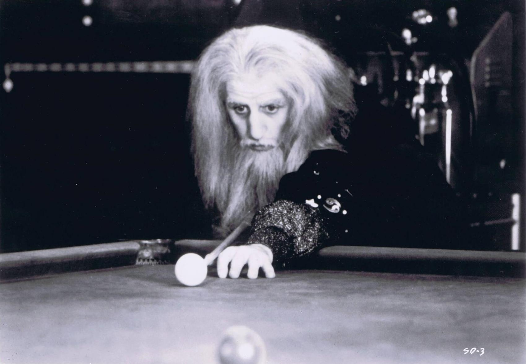 Ringo Starr (also the films producer) as a pool-playing Merlin the Magician in Son of Dracula (1974)
