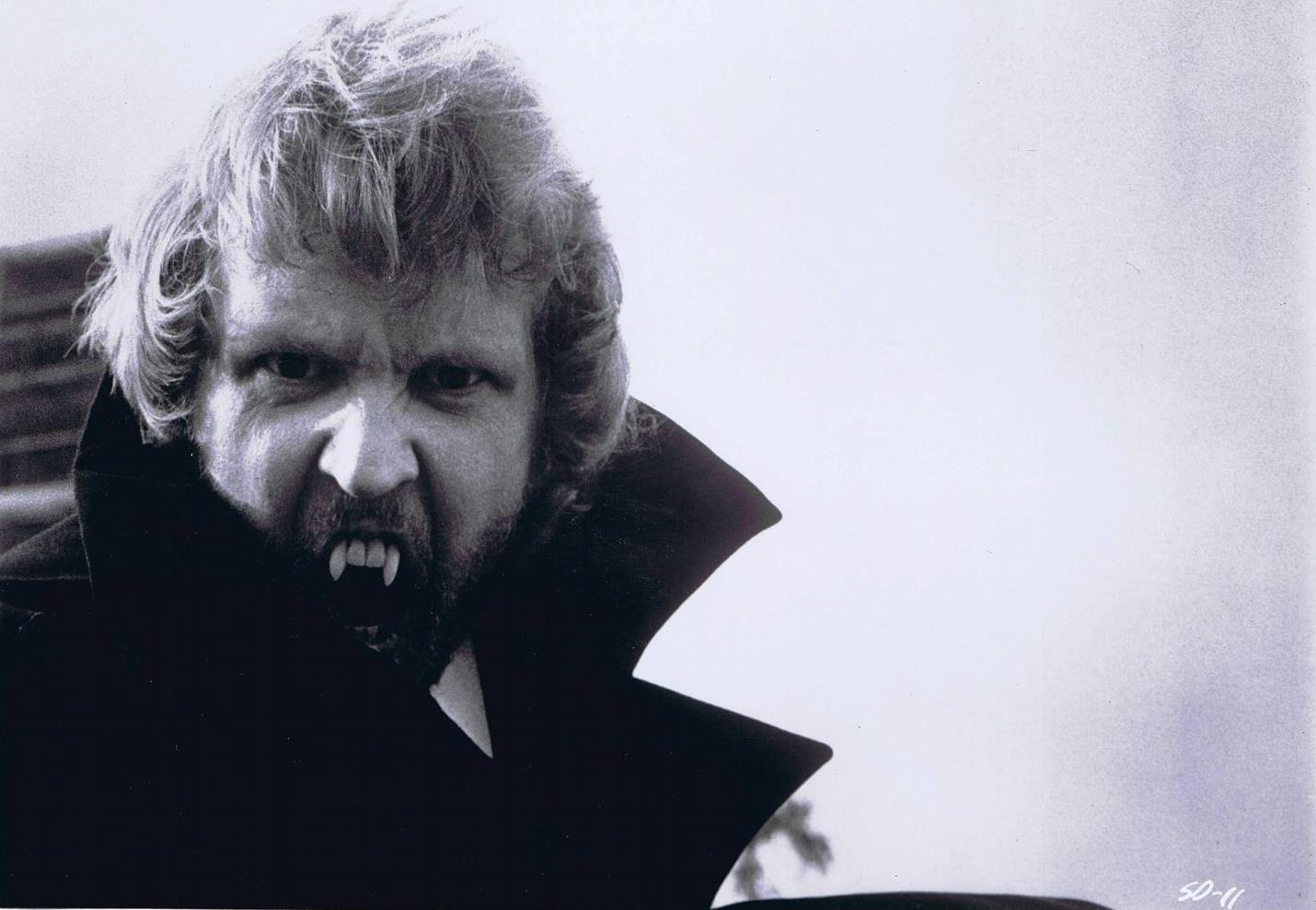 Harry Nilsson as Dracula's son Count Downe and possibly the screen's least threatening vampire in Son of Dracula (1974)