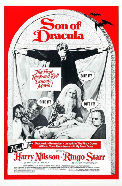 Son of Dracula (1974) poster