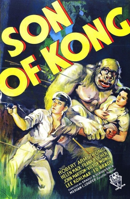 The Son of Kong (1933) poster