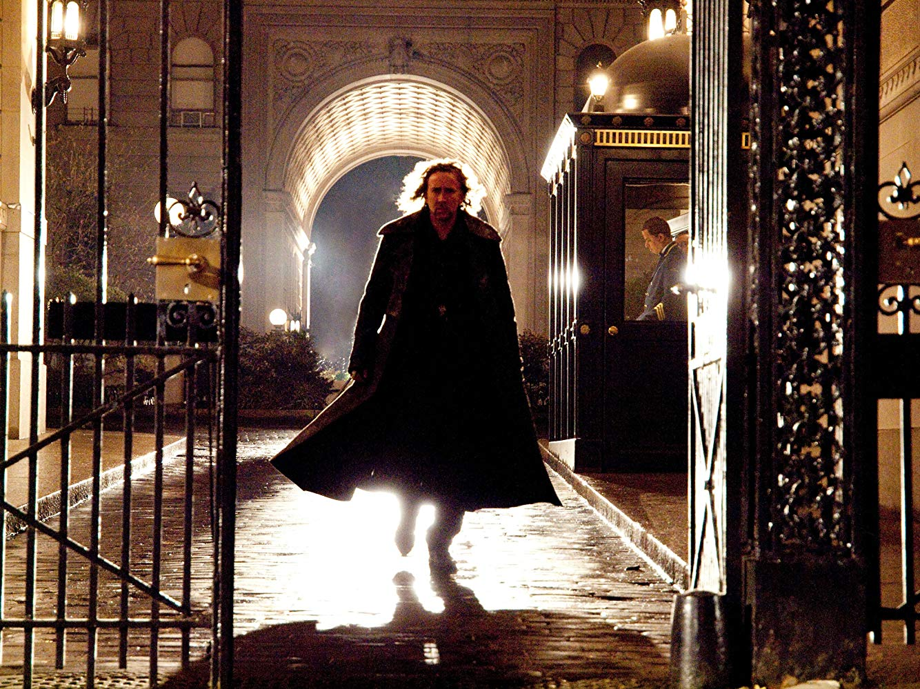 Nicolas Cage as the sorcerer Balthazar in The Sorcerer's Apprentice (2010)