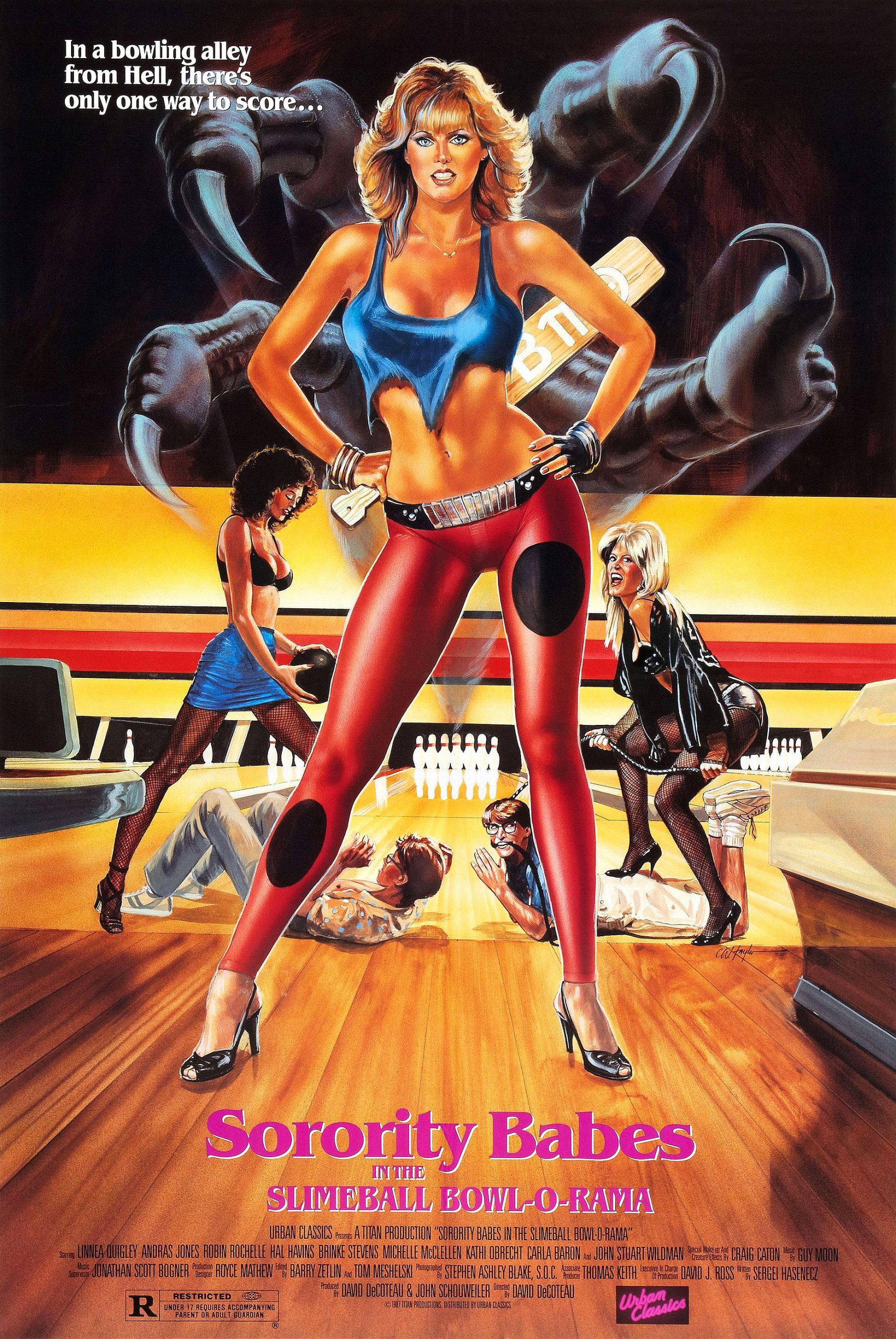 Sorority Babes at the Slimeball Bowl-a-Rama (1987) poster