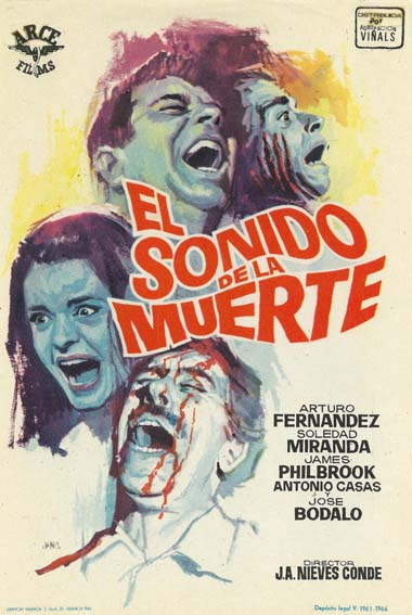 Sound of Horror (1965) poster