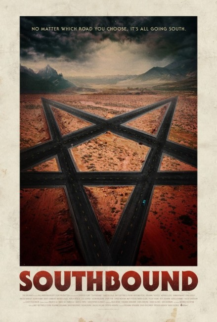 Southbound (2015) poster