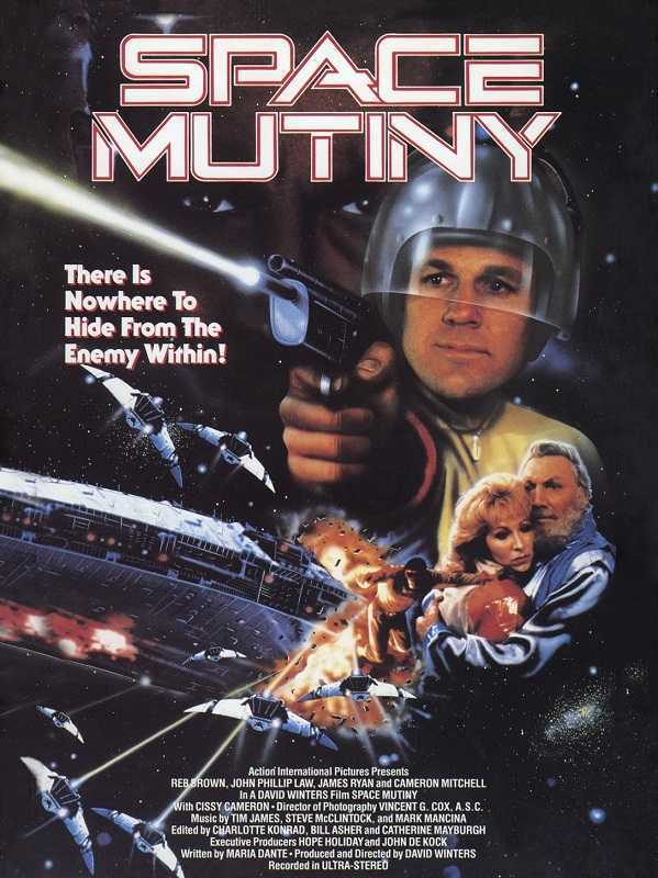 Space Mutiny (1988) poster