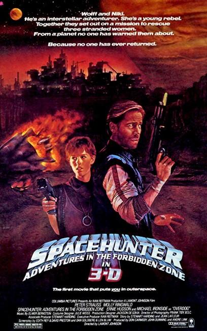 Spacehunter: Adventures in the Forbidden Zone (1983) poster