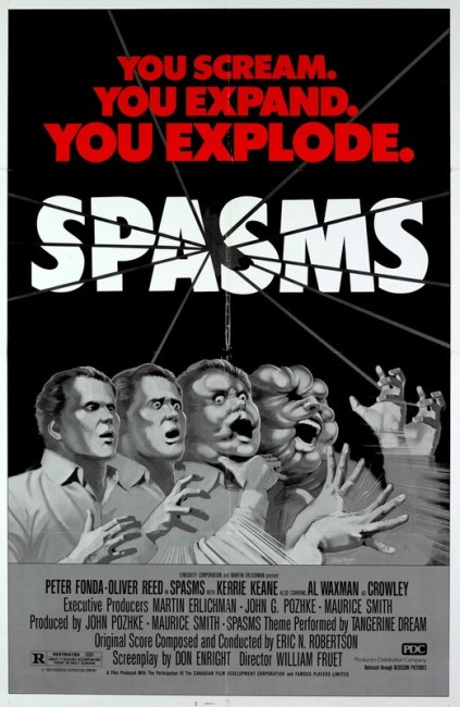 Spasms (1983) poster