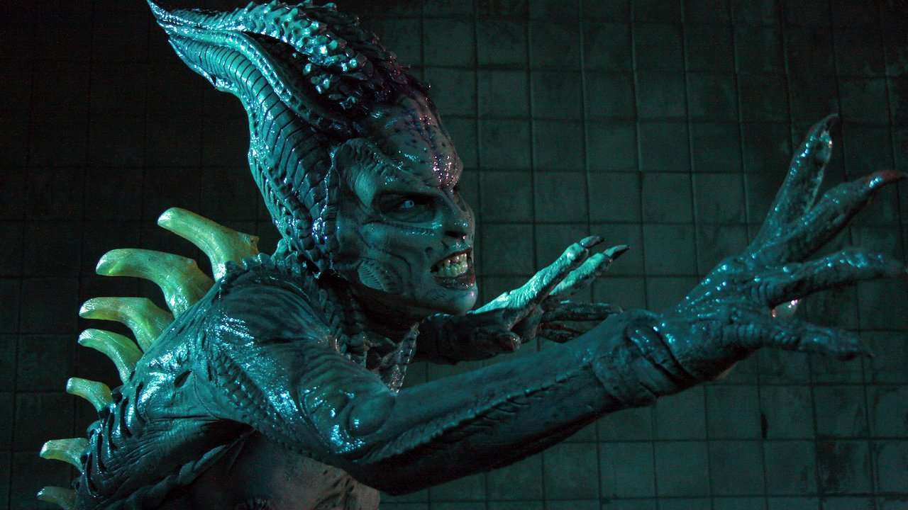 The alien creature in Species: The Awakening (2007)