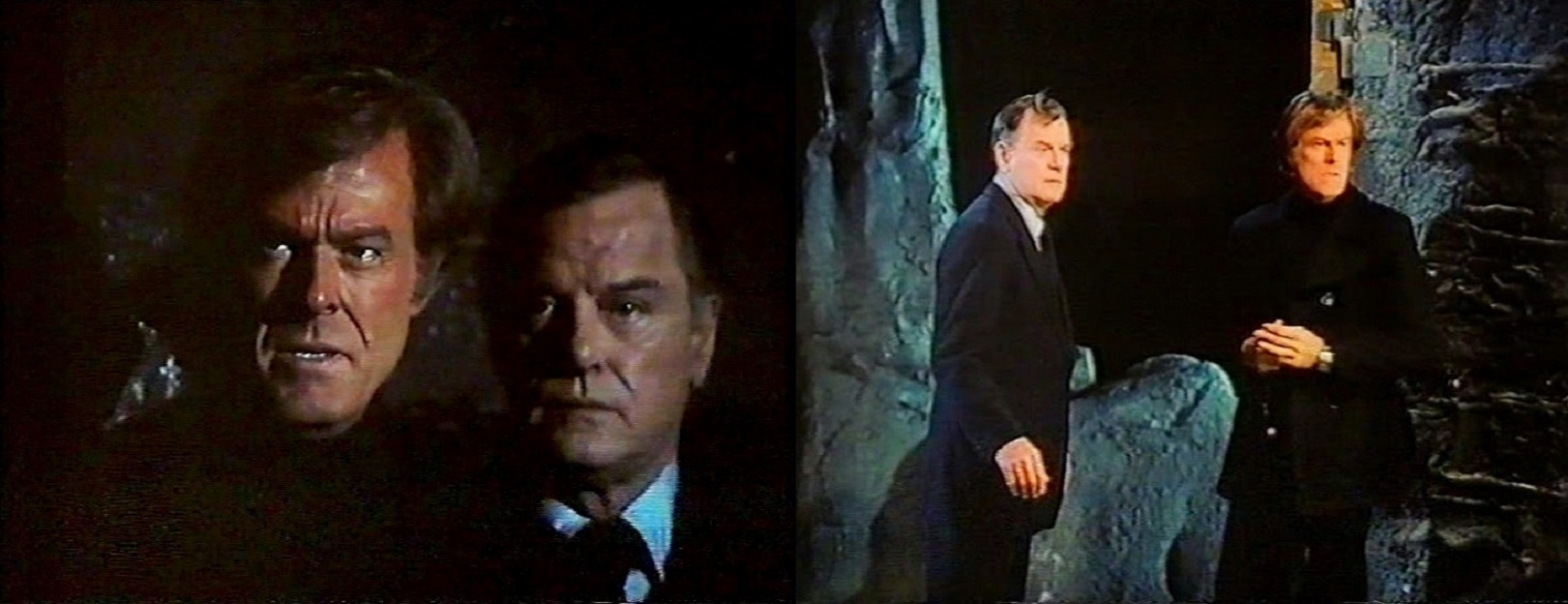 Robert Culp, Gig Young in Spectre (1977)