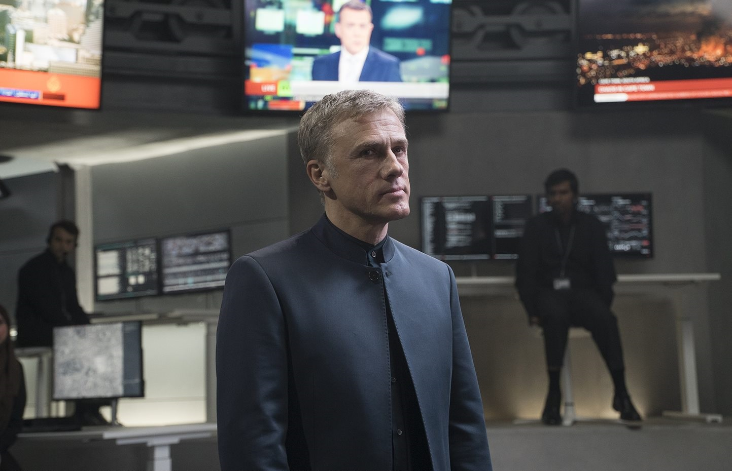 Christoph Waltz as Ernst Stavro Blofeld in Spectre (2015)