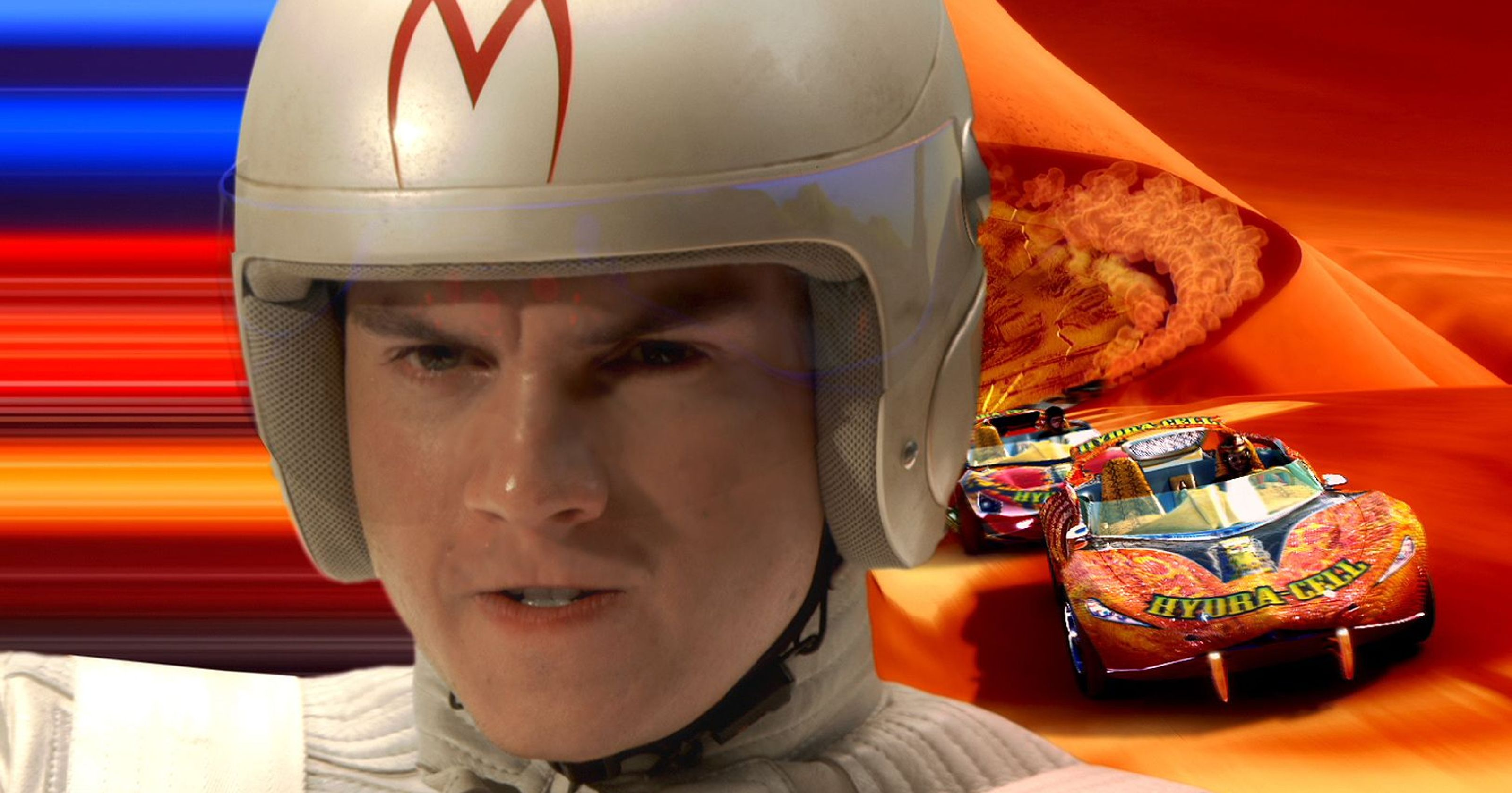 Emile Hirsch as Speed Racer (2008)