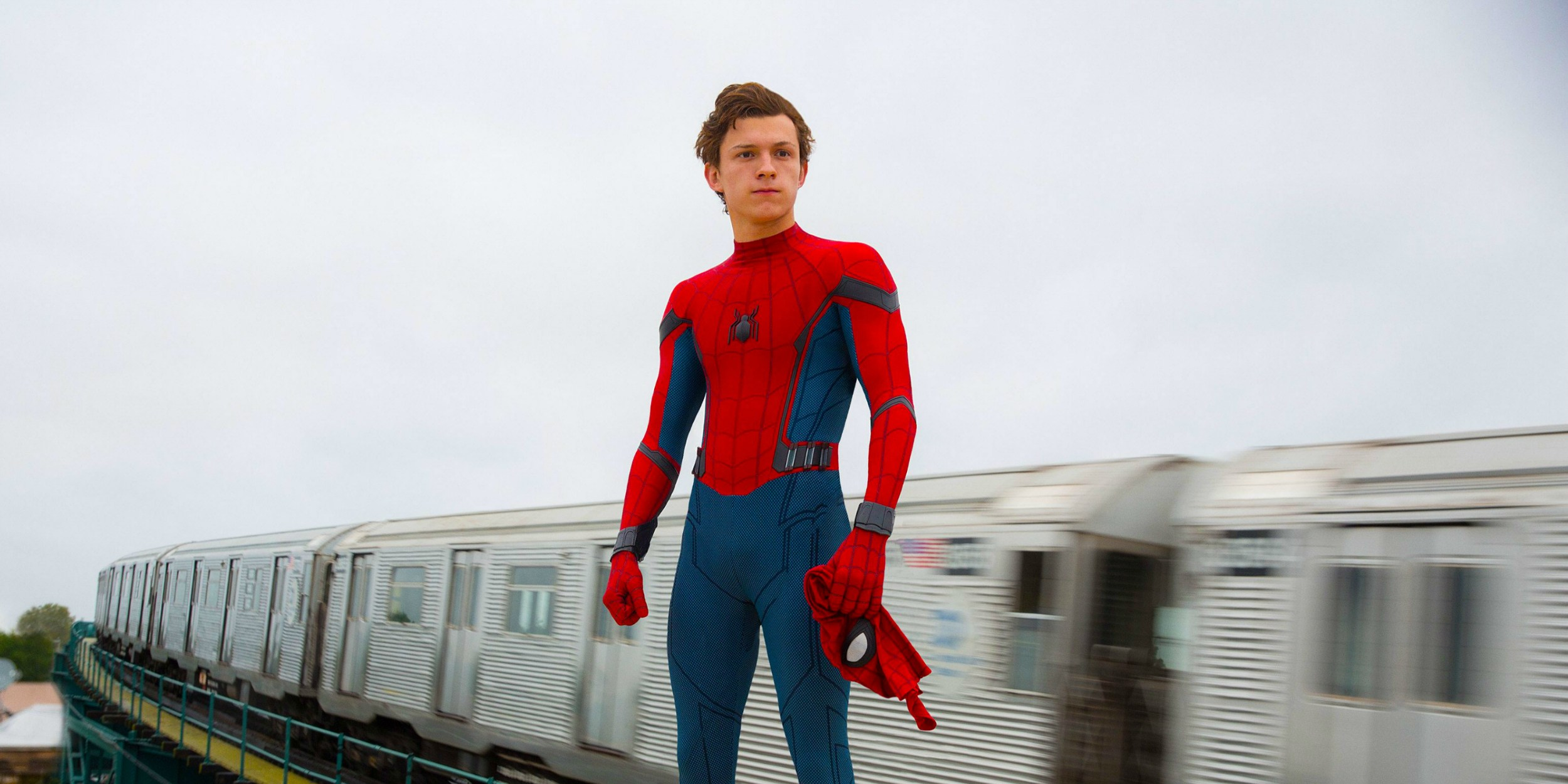 Tom Holland as Peter Parker/Spider-Man in Spider-Man: Homecoming (2017)