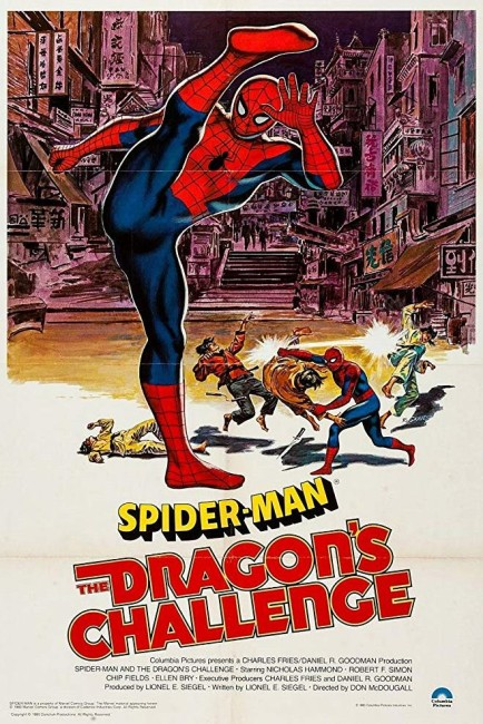 Spiderman and the Dragons Challenge (1980) poster