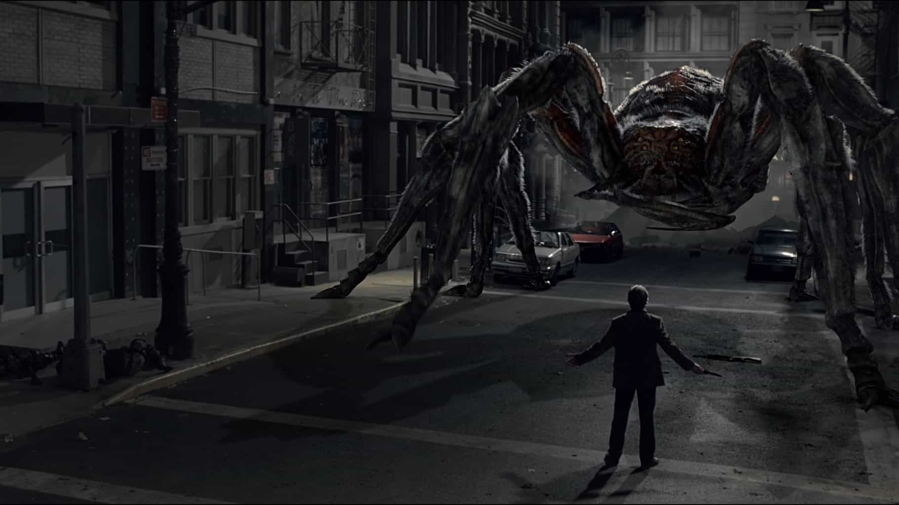 A revival of the giant spider film in Spiders 3D (2013)