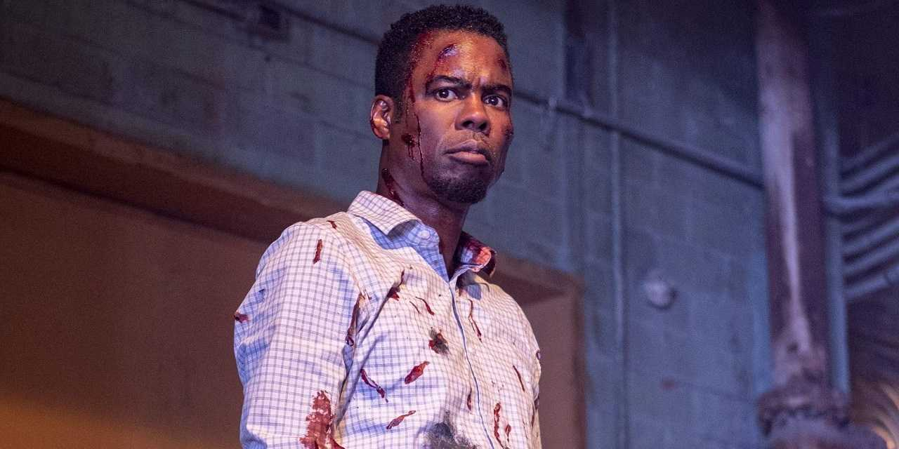 Chris Rock as Detective Zeke Banks in Spiral: From the Book of Saw (2021)