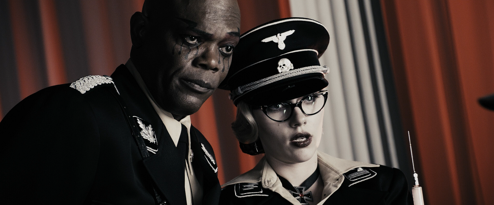 The Octopus and Silken Floss - Samuel L. Jackson and Scarlett Johansson as Nazis in The Spirit (2008)