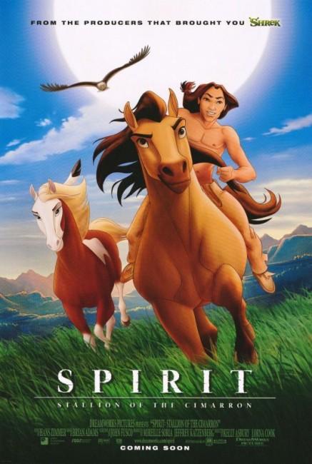 Spirit: Stallion of the Cimarron (2002) poster