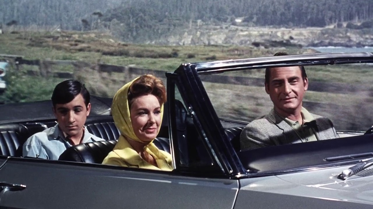 Barry Gordon, Vera Miles and Sid Caesar in The Spirit is Willing (1967)