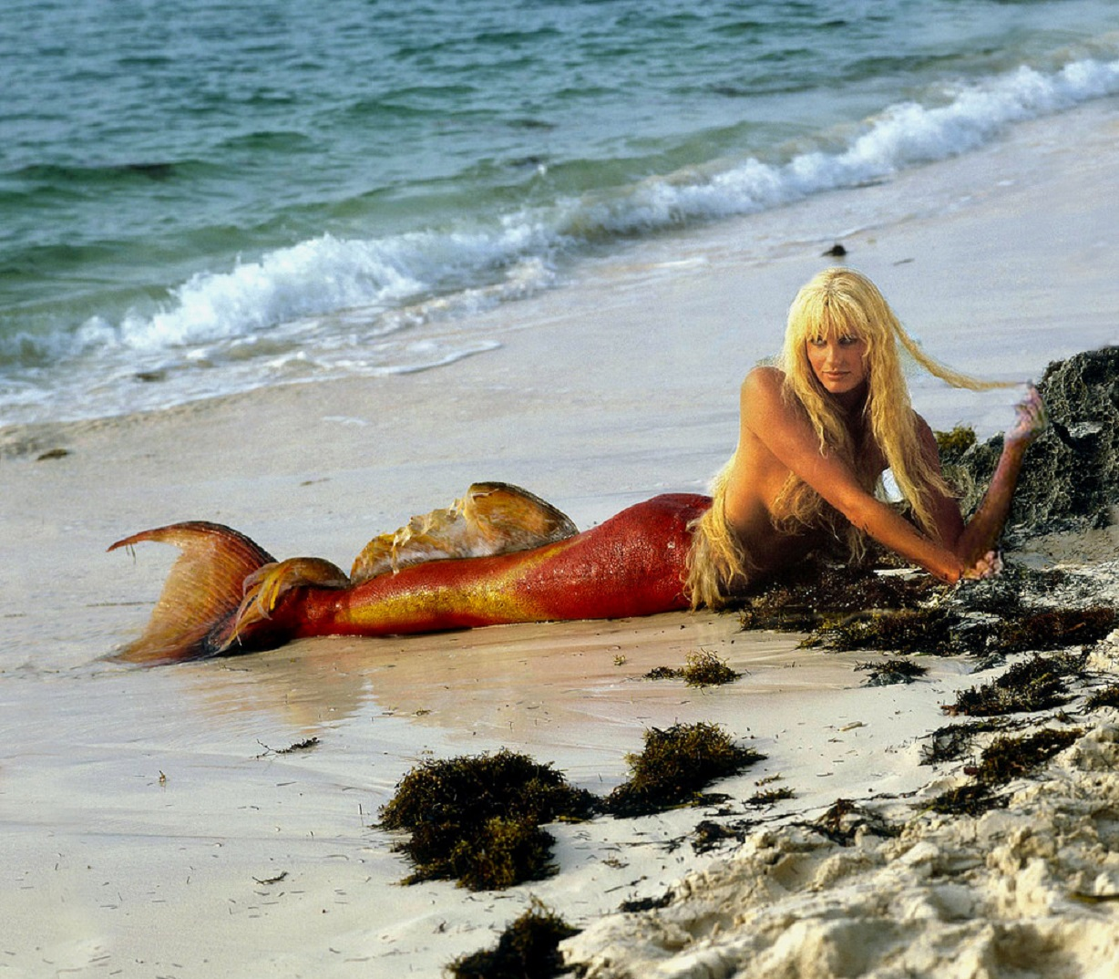 Daryl Hannah as the mermaid Madison in Splash! (1984)