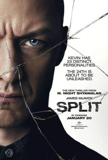 Split (2017) poster