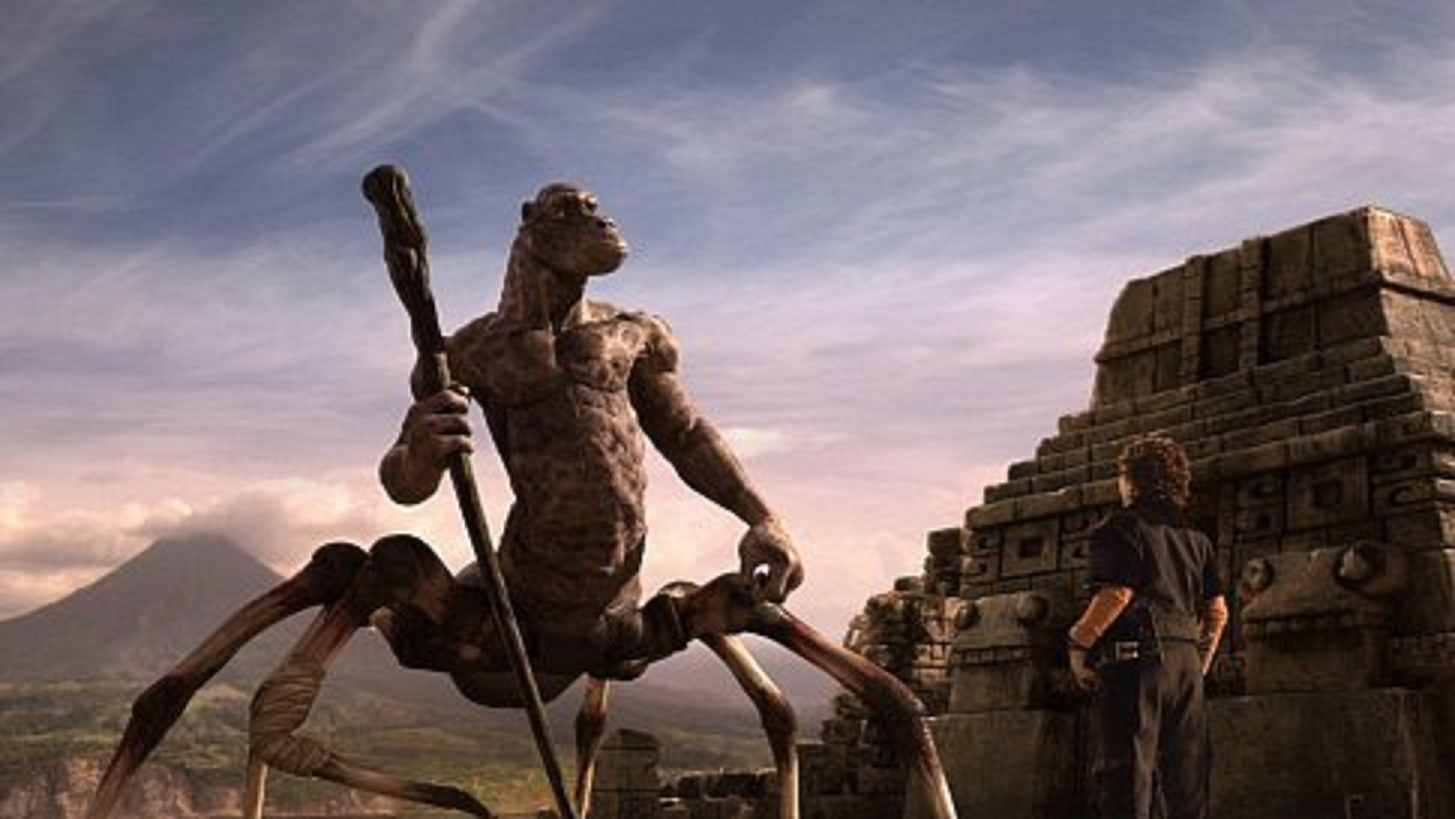 Creature encounters - a homage to Ray Harryhausen in Spy Kids 2 Island of Lost Dreams (2002)
