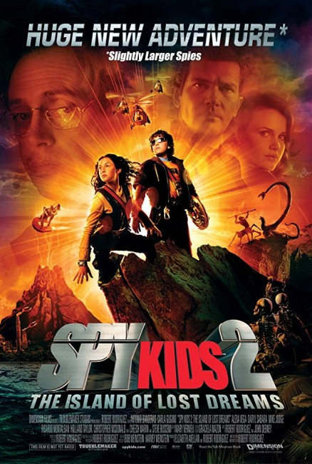 Spy Kids 2: Island of Lost Dreams (2002) poster