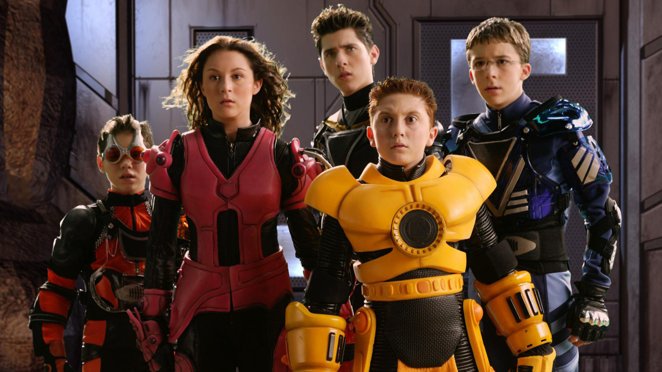 Ryan Pinkston, Alexa Vega, Robert Vito, Daryl Sabara, Bobby Edner in Spy Kids 3-D: Game Over (2003)