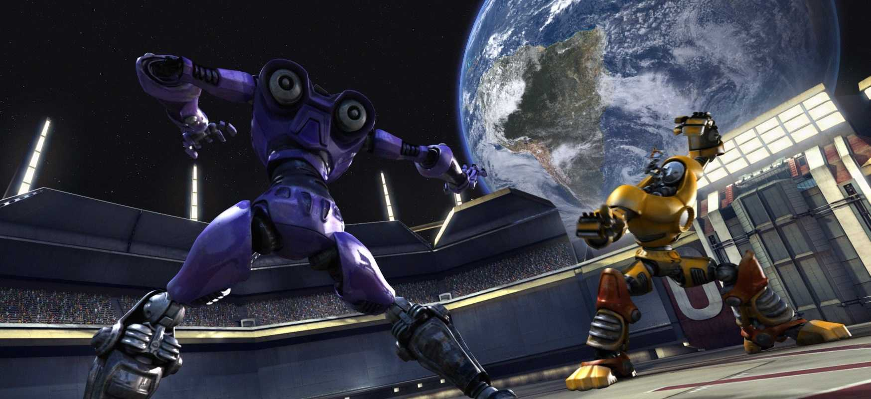 Transformer combat in Spy Kids 3-D: Game Over (2003)