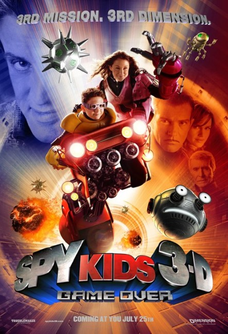 Spy Kids 3-D: Game Over (2003) poster