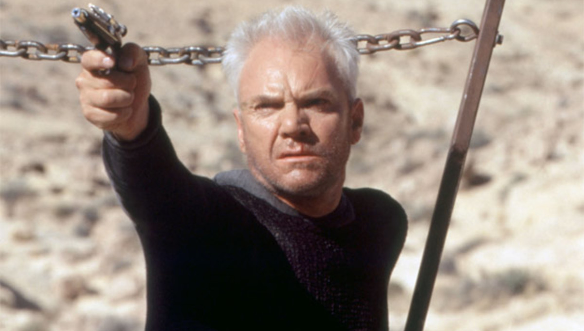 The man who killed Captain Kirk - Malcolm McDowell as Dr Tolian Soran in Star Trek: Generations (1994)