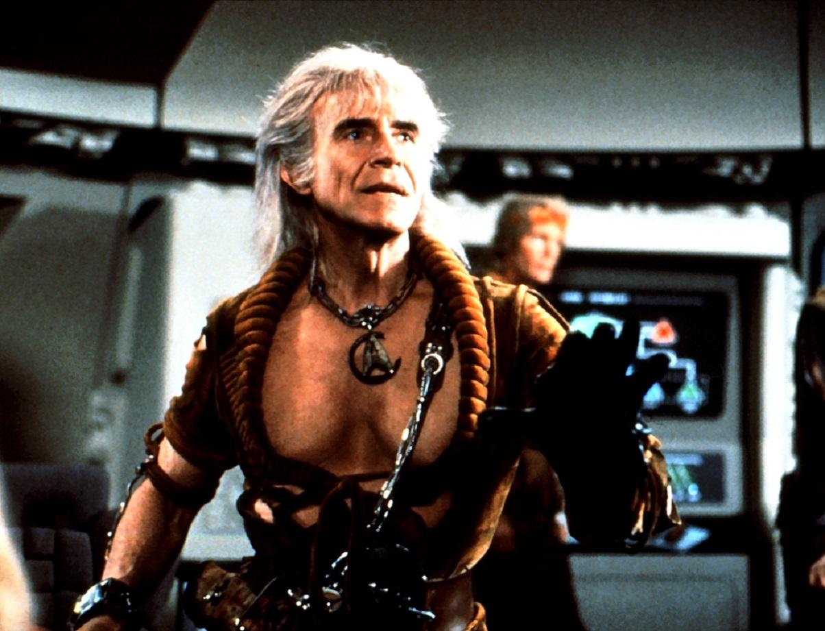 Ricardo Montalban as Khan in Star Trek II: The Wrath of Khan (1982)