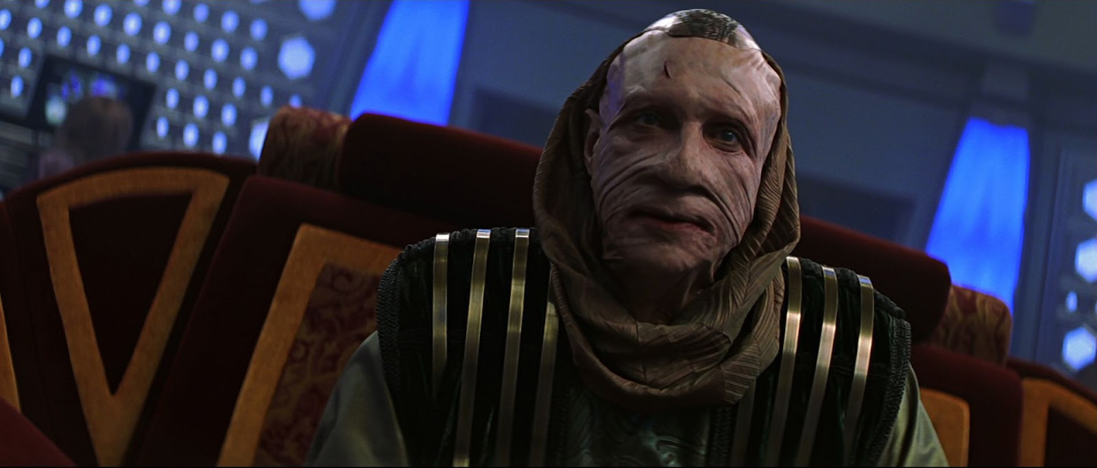 Ru'afo (F. Murray Abraham) in Star Trek Insurrection (1998)