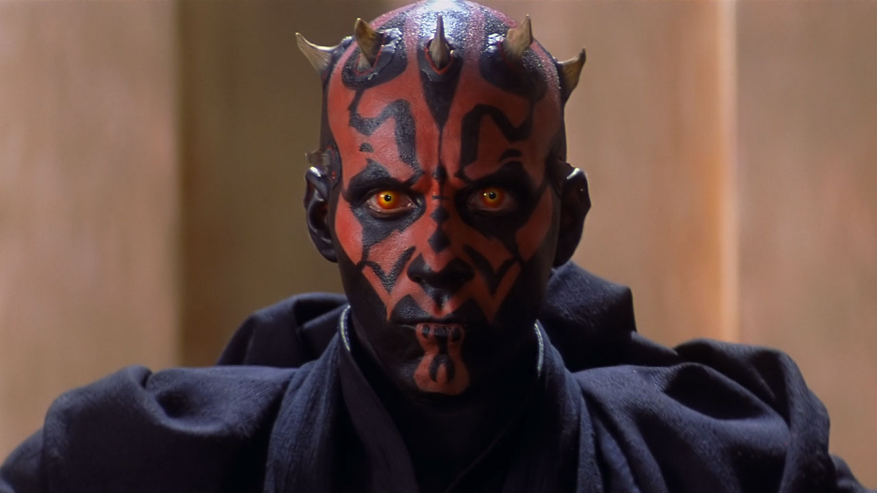 Darth Maul (Ray Park) in Star Wars Episode I The Phantom Menace (1999)