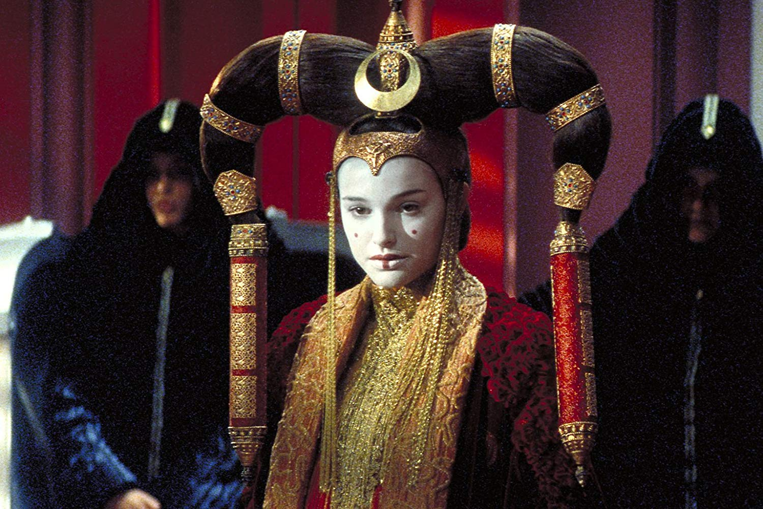 Queen Amidala (Natalie Portman) in Star Wars Episode I The Phantom Menace (1999)