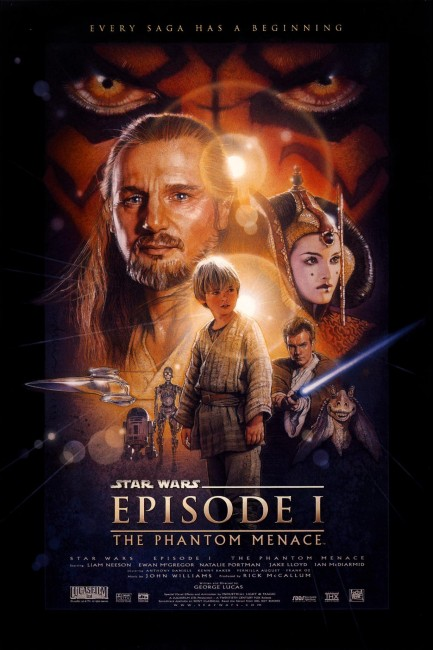 Star Wars Episode I The Phantom Menace (1999) poster