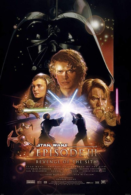 Star Wars Episode III Revenge of the Sith (2005) poster