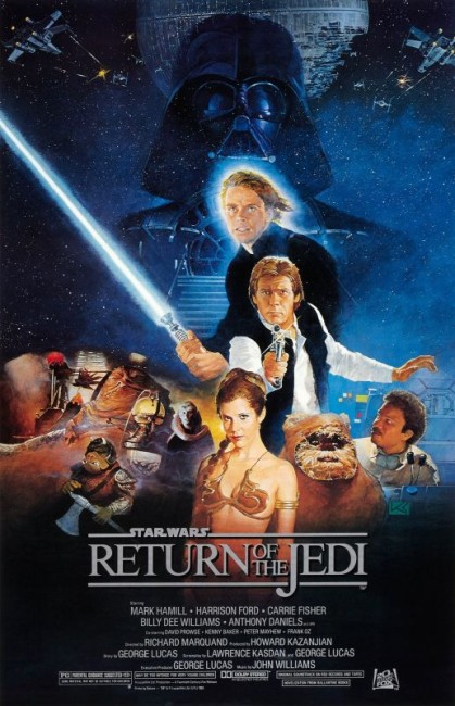 Star Wars Episode VI Return of the Jedi (1983) poster