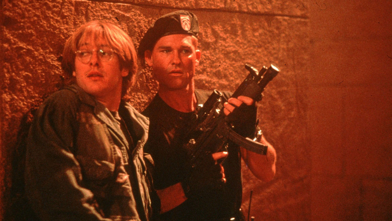 Planetary adventures with (l to r) Egyptologist Daniel Jackson (James Spader) and Colonel Jack O'Neill (Kurt Russell) in Stargate (1994)
