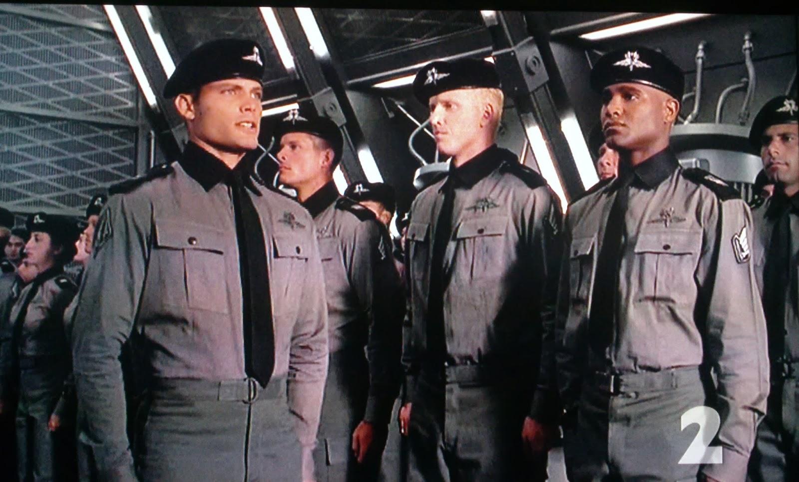 Casper Van Dien as Johnny Rico in Starship Troopers (1997)