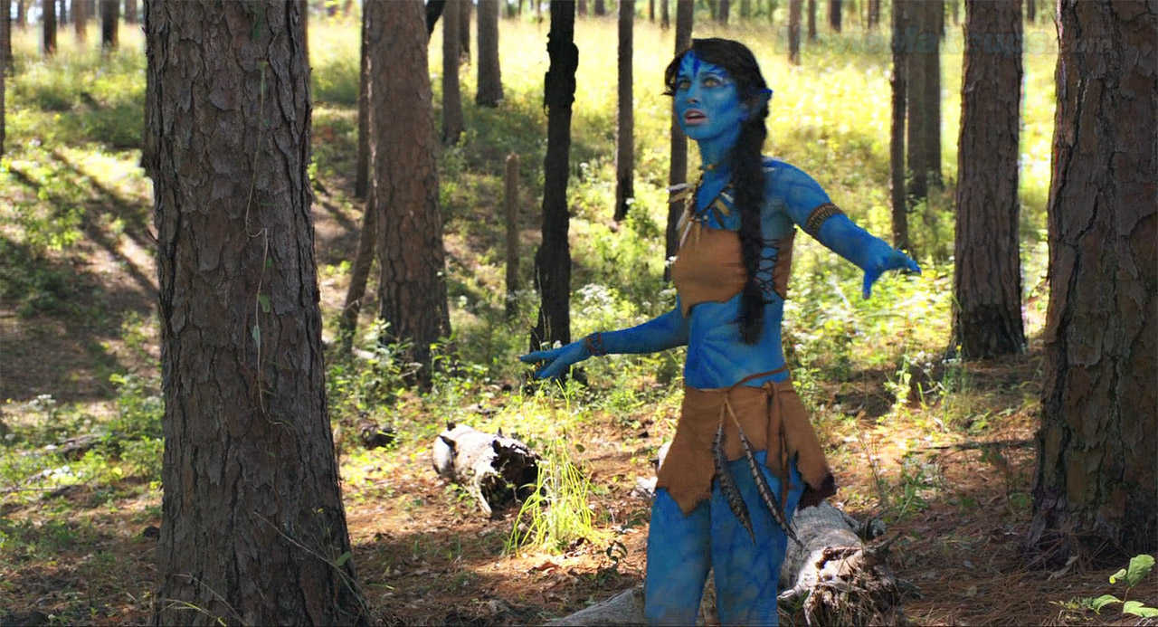 The parody of Avatar in The Starving Games (2013)