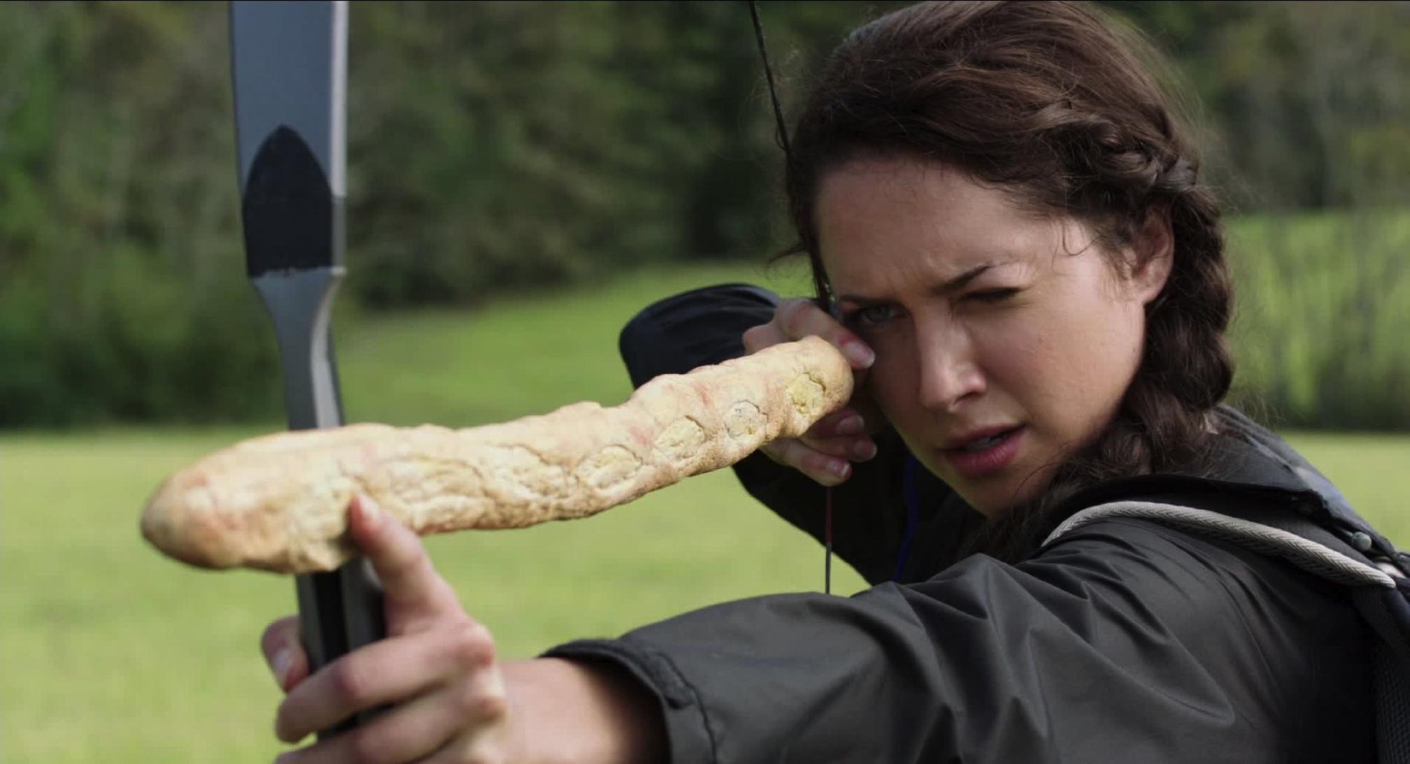 Maiara Walsh as Kantmiss Evershot in The Starving Games (2013)