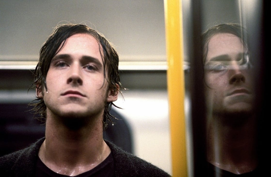 A troubled Ryan Gosling in Stay (2005)