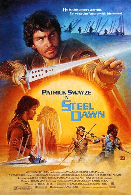 Steel Dawn (1987) poster