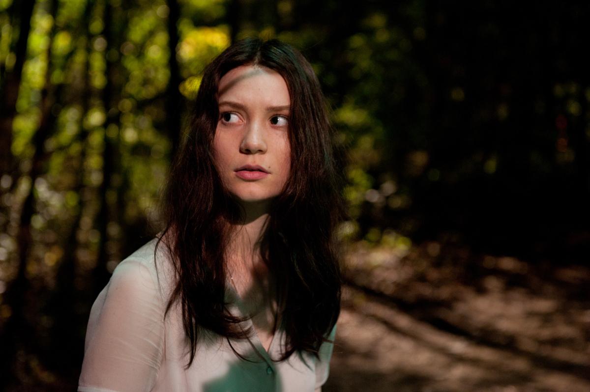 Mia Wasikowska in Stoker (2013)