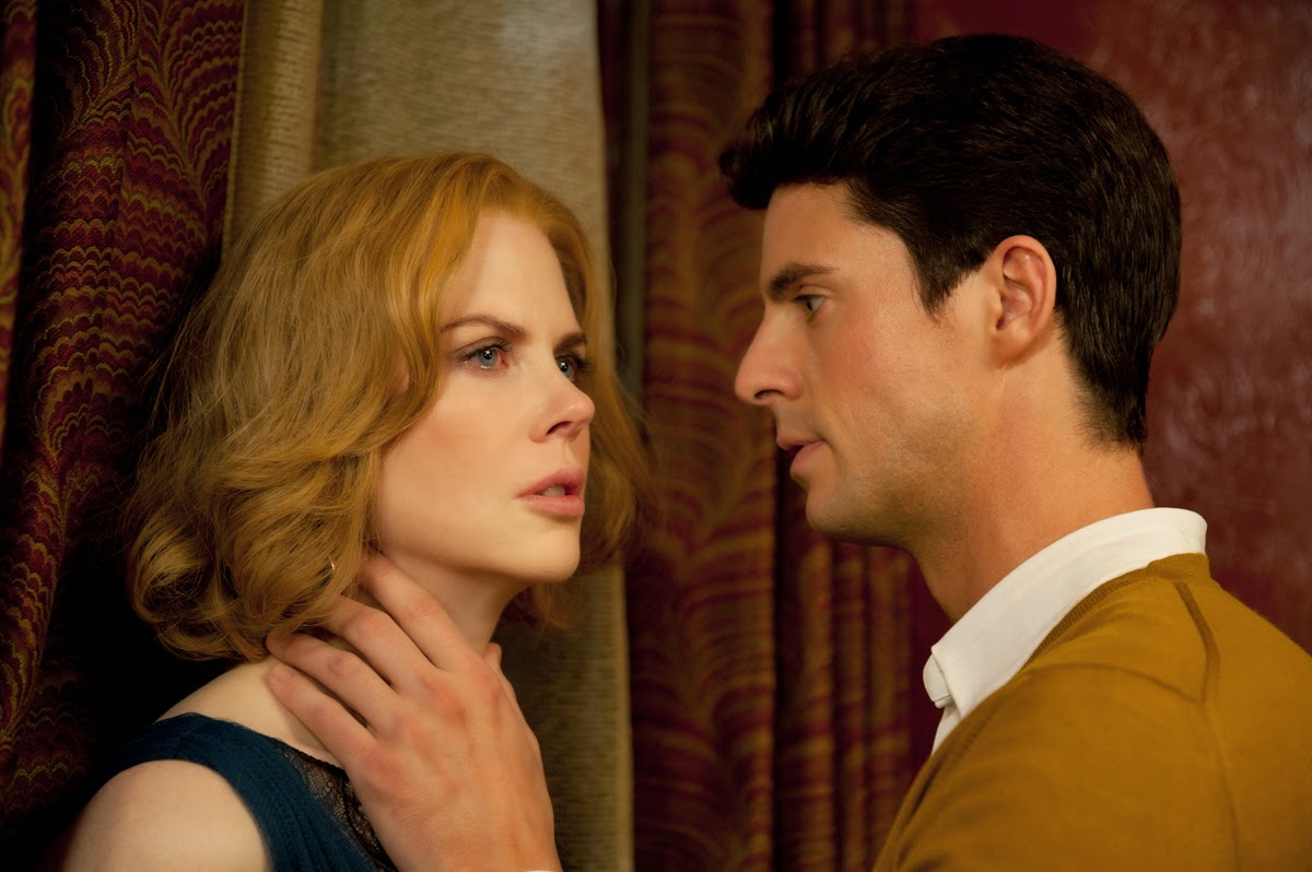 Charmingly friendly uncle Matthew Goode menaces Nicole Kidman in Stoker (2013)